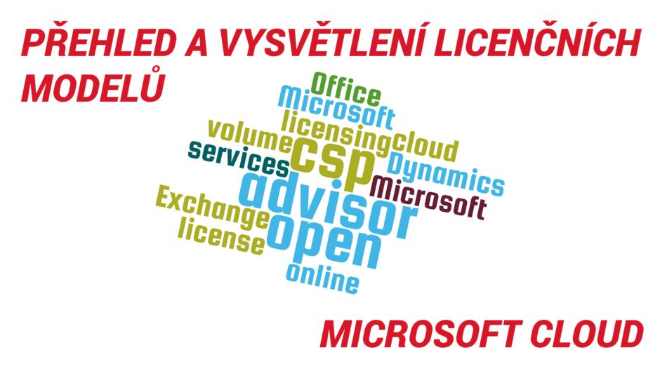 Licenční modely Microsoft Cloudu a jejich vysvětlení
