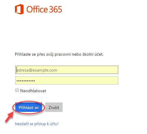 Migrace kontaktů a kalendáře z Google Apps do Office 365 - postup 7