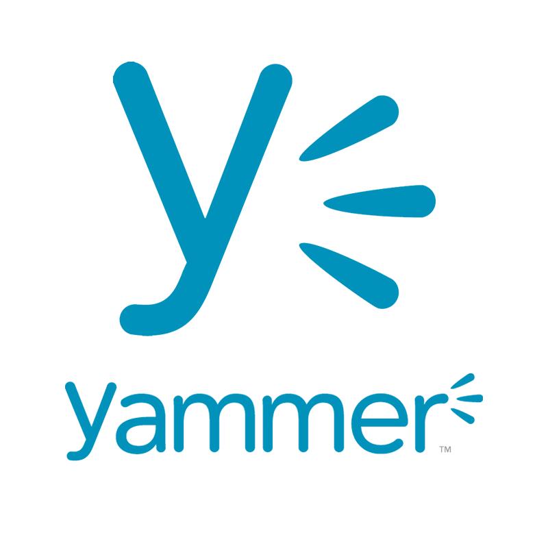 Logo služby Yammer