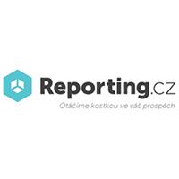 Logo cloudové služby reporting.cz