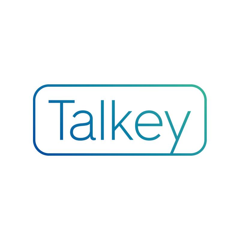 Logo služby Talkey