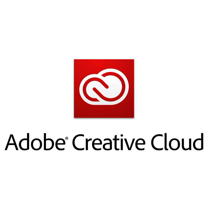 Logo cloudové služby Adobe creative Cloud
