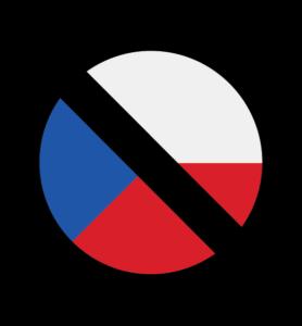 Přeškrtnutá česká vlajka