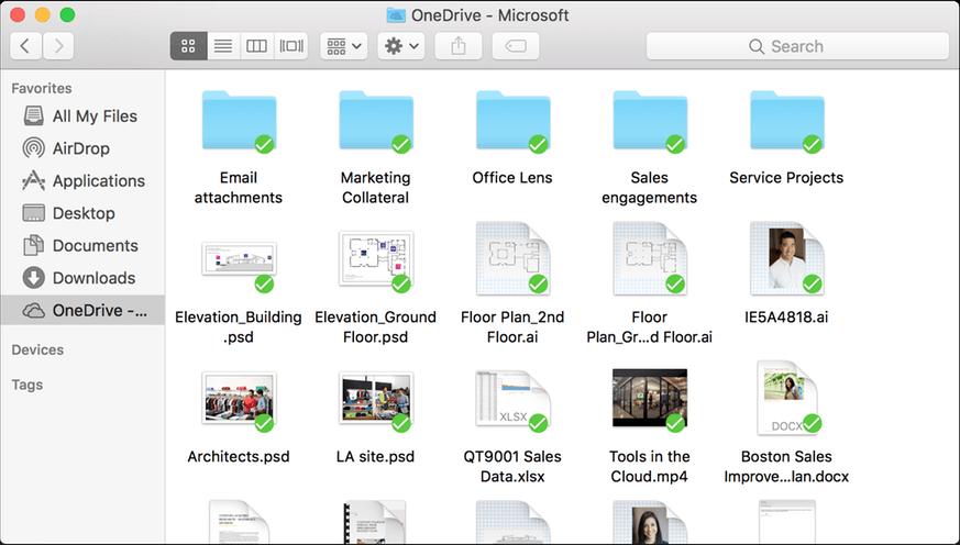 OneDrive pro Firmy na MAC