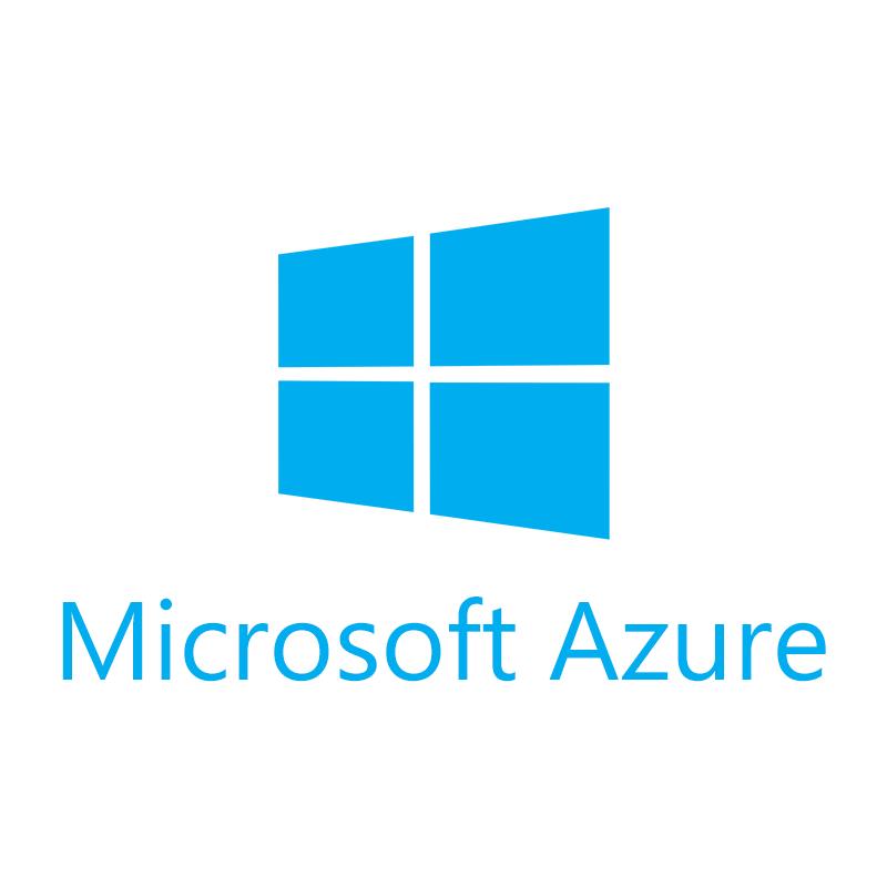 Microsoft Azure cloud platform Logo