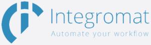Logo integromat šedivé