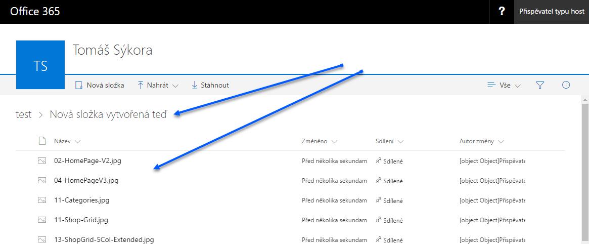 Jak nasdílet data z OneDrive pro firmy komukoliv 9