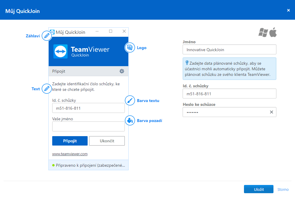 TeamViewer QuickJoin customizator