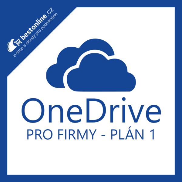 Microsoft OneDrive pro Firmy Plán 1