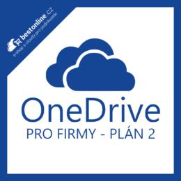 OneDrive pro Firmy plán 2