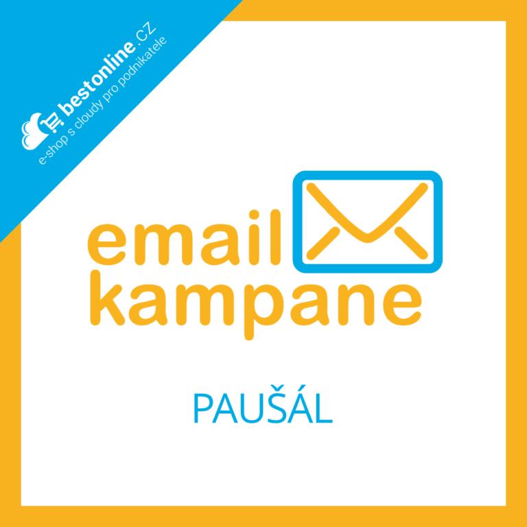 EmailKampaně.cz paušální účet