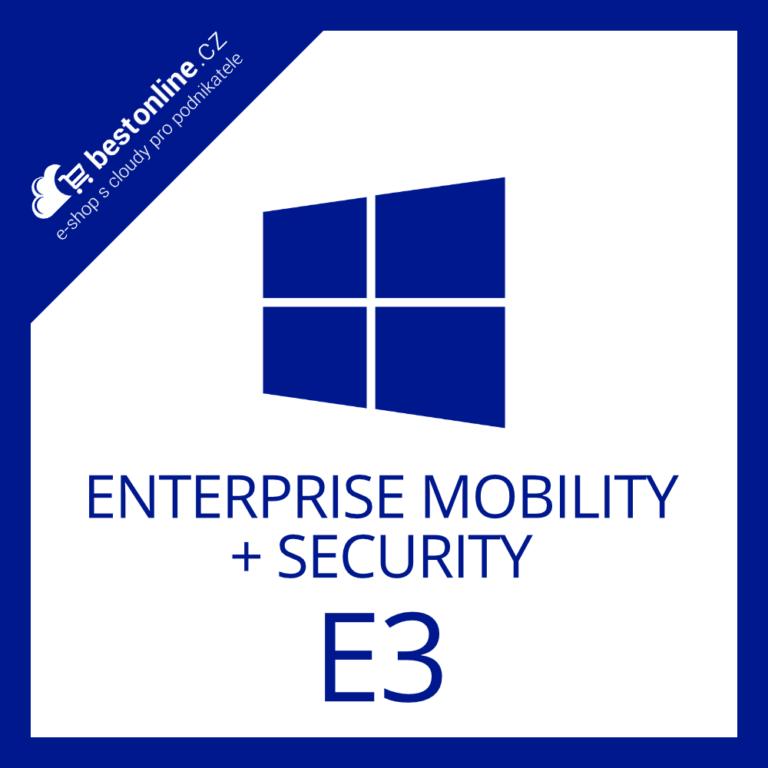 Microsoft Enterprise Mobility + Security E3