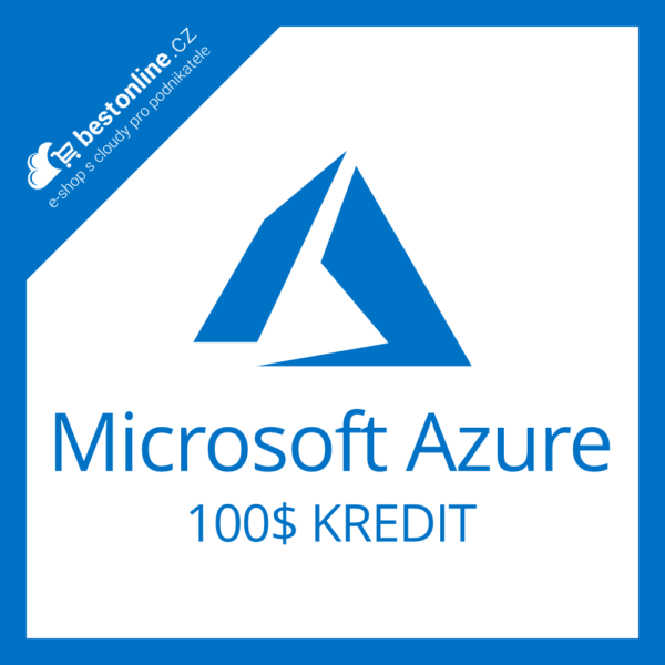 Microsoft Azure Backup kredit 100 USD