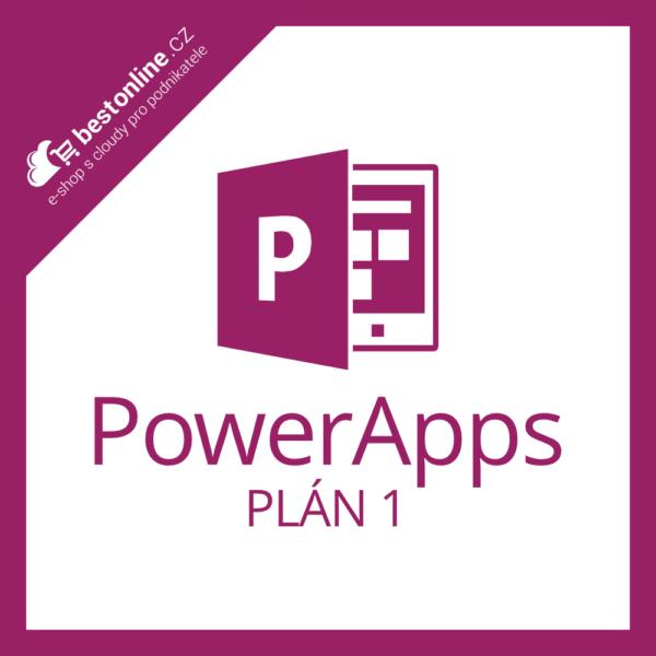 Microsoft PowerApps Plán 1