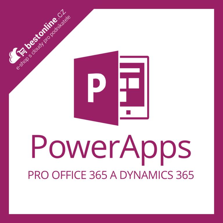 Microsoft PowerApps pro Office 365 a Dynamics 365