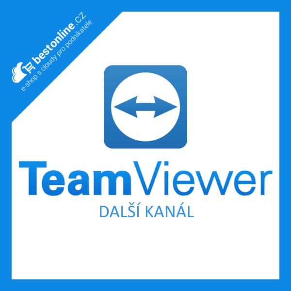 Doplněk pro TeamViewer: Další kanál