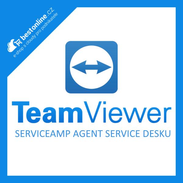 Doplněk pro TeamViewer: Serviceamp agent service desku