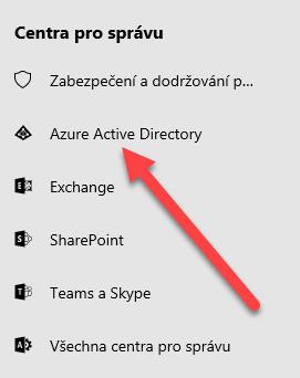 Nastavení SSO pro službu Requestor v Azure Active Directory (Office 365) 1