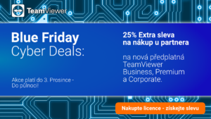 TeamViewer sleva Blue Friday