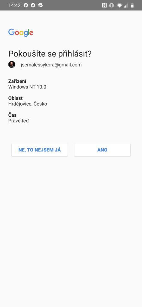 Nastavení účtu Gmail v Outlooku 8