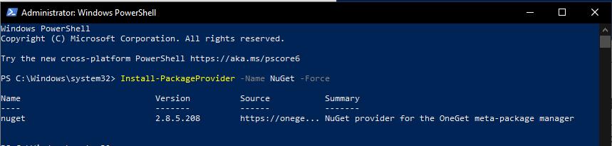 Připojení k Exchange Online pomocí PowerShellu 3