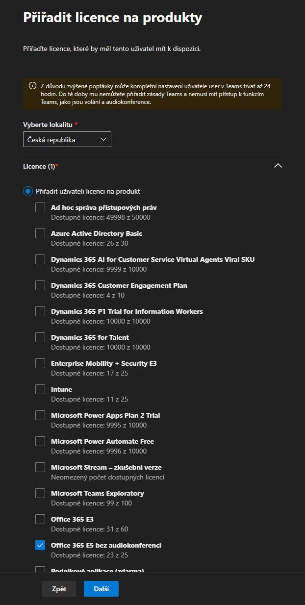 Jak vytvořit uživatele v Microsoft Office 365 12