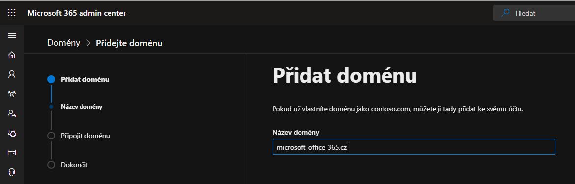 Jak přidat vlastní doménu do Microsoft Office 365 5