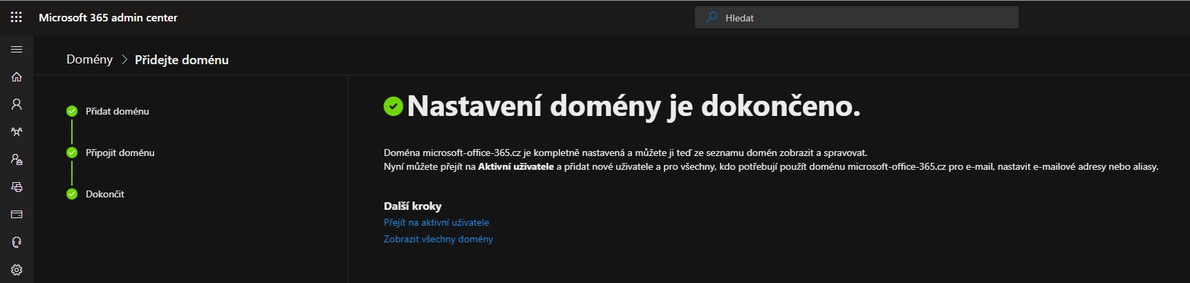 Jak přidat vlastní doménu do Microsoft Office 365 11