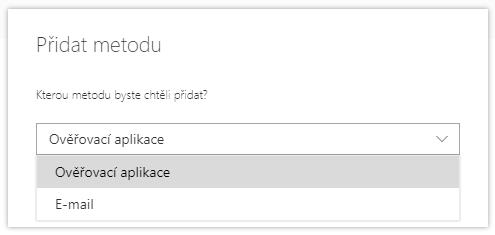 Hesla aplikací nejsou dostupná v Microsoft 365 1