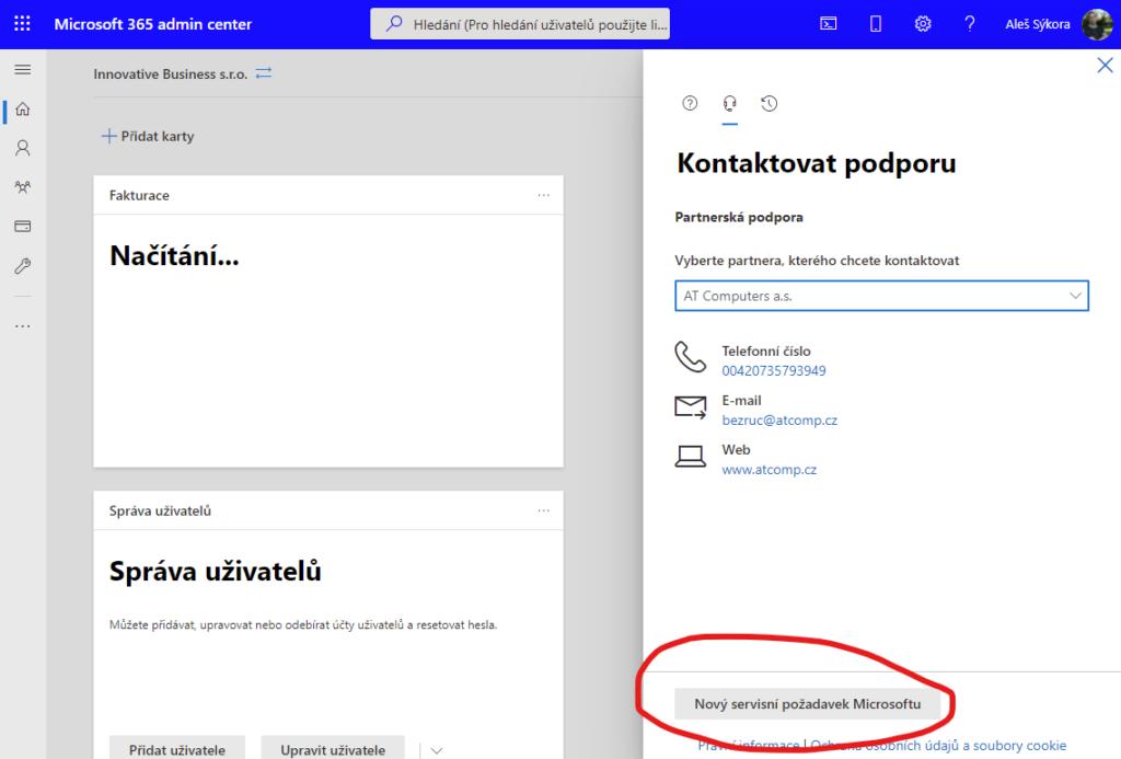 Jak používat podporu Microsoft 365 (Office 365) 4
