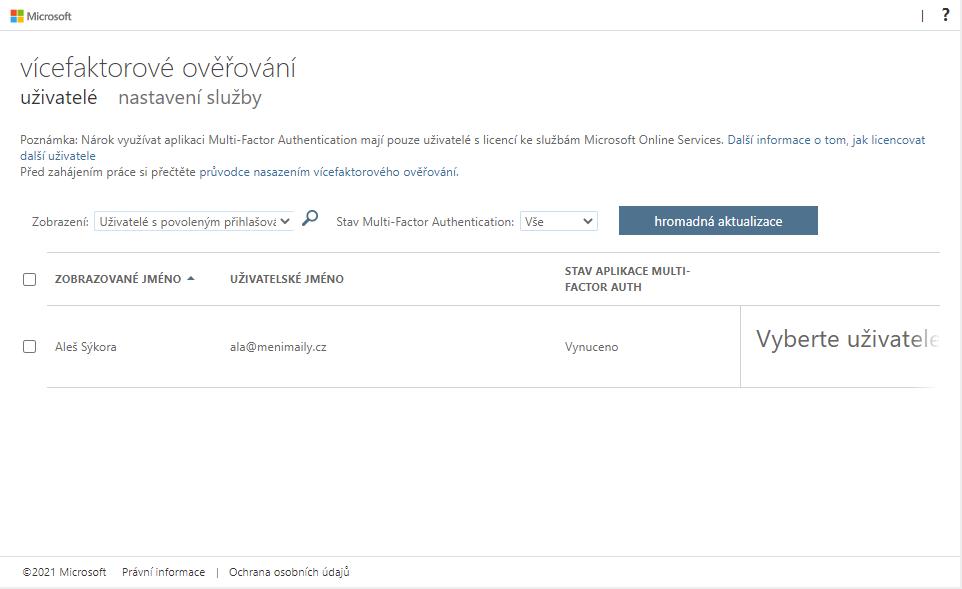 Hesla aplikací nejsou dostupná v Microsoft 365 6