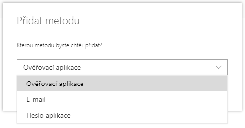 Hesla aplikací nejsou dostupná v Microsoft 365 8