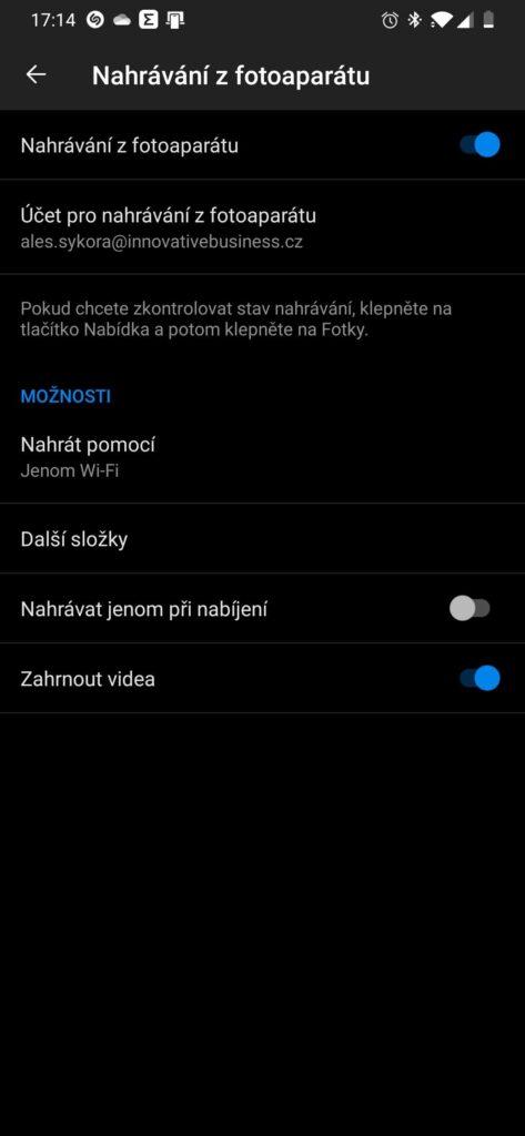 Zálohování fotek z mobilu na OneDrive 7